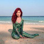 โลกของทะเลต้องสงบสุข!! เบียร์ ภัสรนันท์ แปลงร่างเป็นราชินีเมร่าในหนังอควาแมน