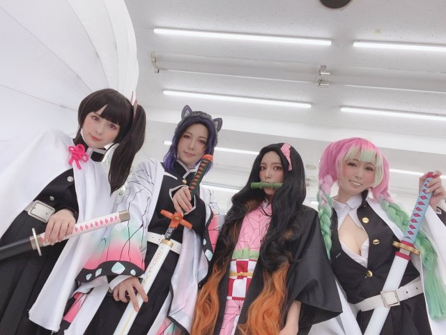 สาวAV-สาวๆคอสเพลย์ในดาบพิฆาตอสูรสุดเร้าใจ-kimetsu no yaiba