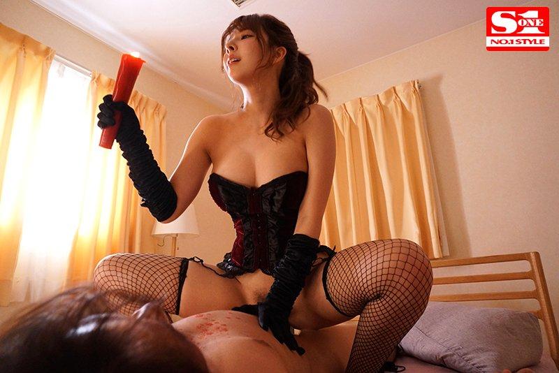 หนังAV SSNI-845 Mikami-Yua 彼女の姉は美人で巨乳しかもドS!大胆M性感プレイでなす術もなくヌキまくられるドMな僕。